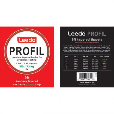 Leeda Profil Casts-Dryfly