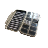 Compartment and Slot Foam Fly Box