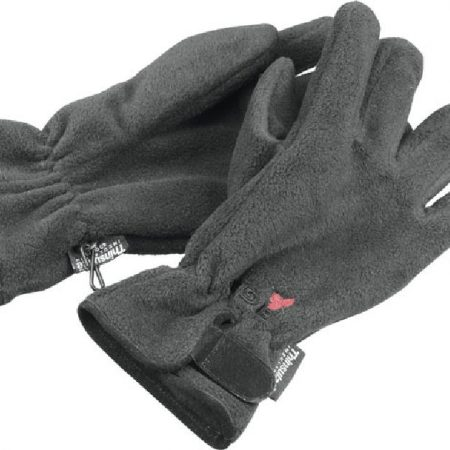 Eiger Fleece Gloves - Black