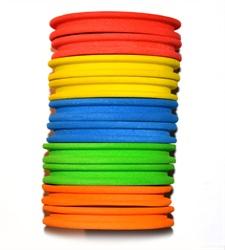 Leeda 10 Foam Tippet Retainers