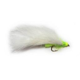 Hot Head White & Lime Flapper