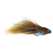 Brass Cone Head Zuddler - Flashy Blue