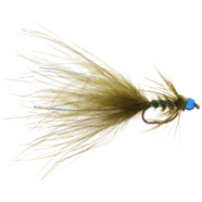 Flashy Blue Head Damsel (brass)