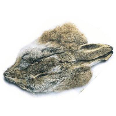 HARE - MASK WITH  EARS Dyed