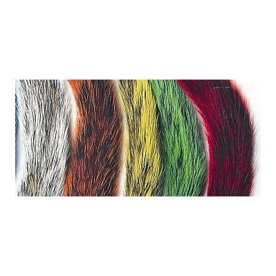 GREY SQUIRREL TAILS - WHOLE TAIL Mixed (5 colours)