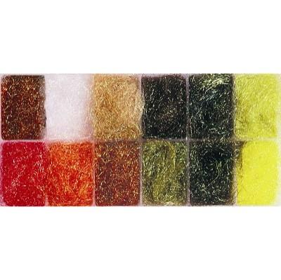 GLISTER SPARKLE DUBBING Dispenser Box of 12 Colours