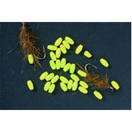 FIREFLY CADDIS BEADS Phosphor lime