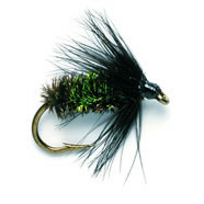 Wet Fly - BLACK & PEACOCK SPIDER